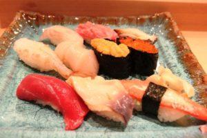 おたる旭寿司の握り寿司